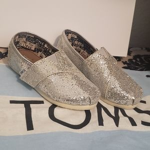 TOMS TODDLER GIRL'S SHOES
